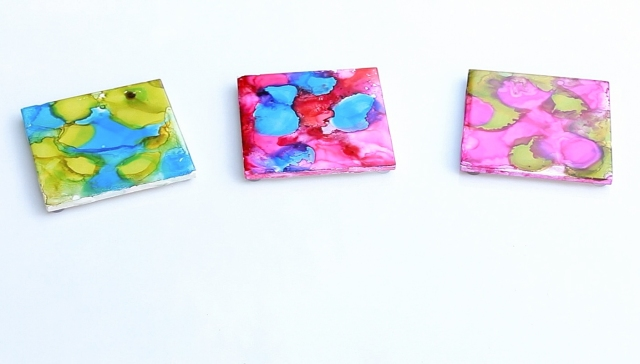 Watercolor coasters 3
