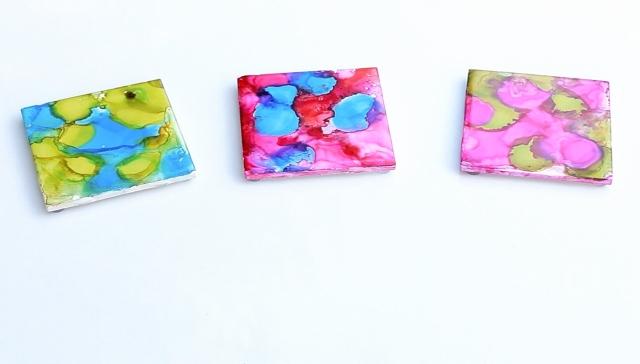 Watercolor coasters 3